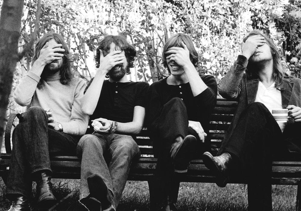 Immagine dei Pink Floyd nel 1971