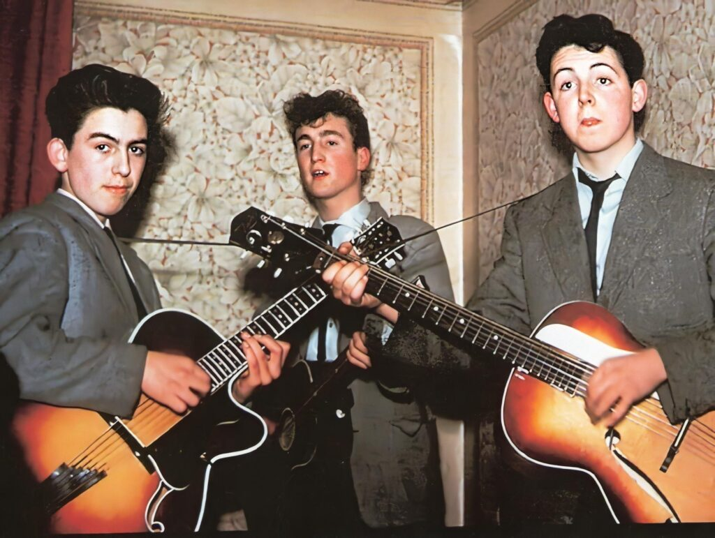 Vinili da Avere: i Quarrymen, poi diventati i Beatles