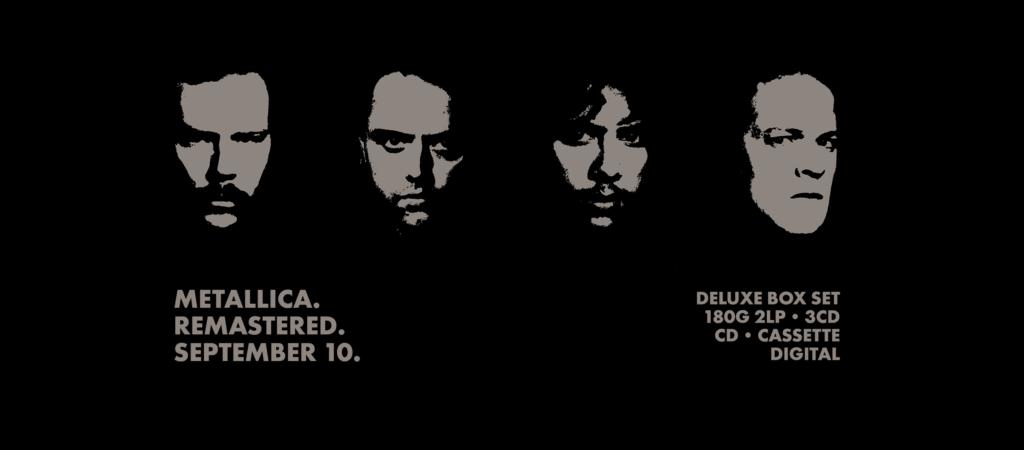 metallica black album 2021 box set