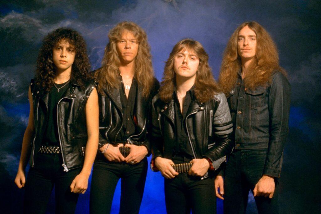 10 curiosita sui metallica band giovane
